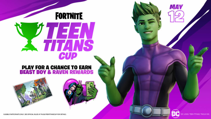 Epic Games is celebrating the released of their new Fortnite Beast Boy skin with a competition.