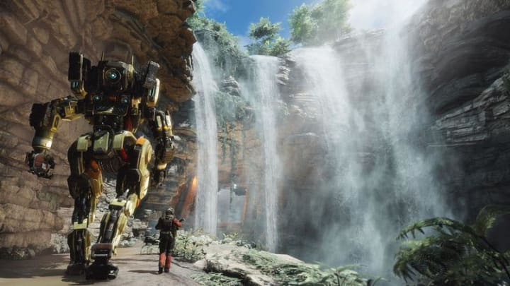Respawn is keeping the door open to Titanfall content in the future.