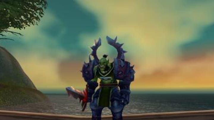 World of Warcraft The Burning Crusade Classic Warrior Class, Orc