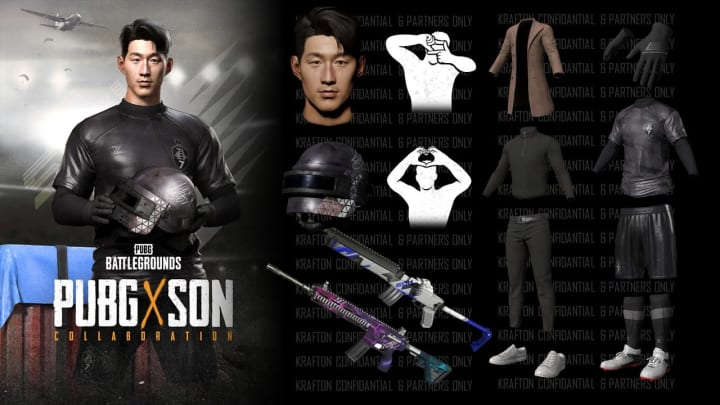 Son Heung-min is soon to be featured in PUBG, here's how to get his skin when it releases. | Photo by PUBG Corp