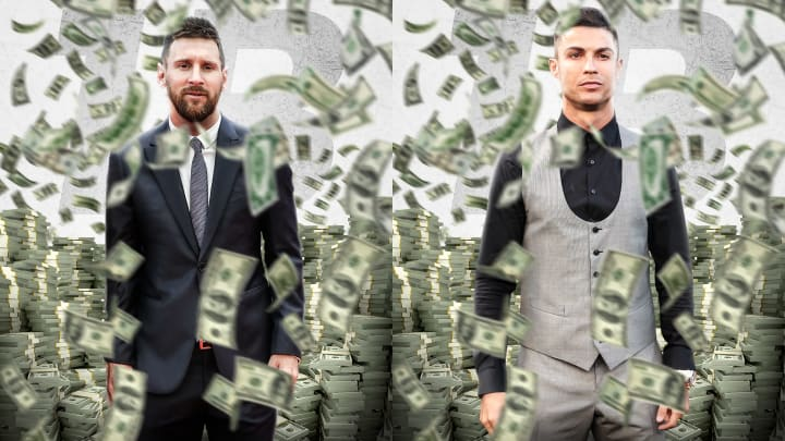 Footballers with highest earning per post on Instagram