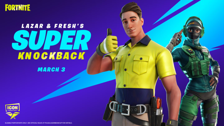 Fortnite Lazar & Fresh's Super Knockback Tournament and everything else you need to know is right here.