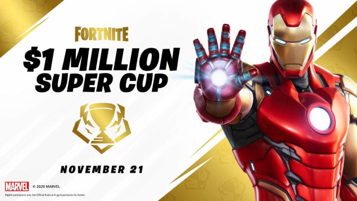 $1M Fortnite Super Cup