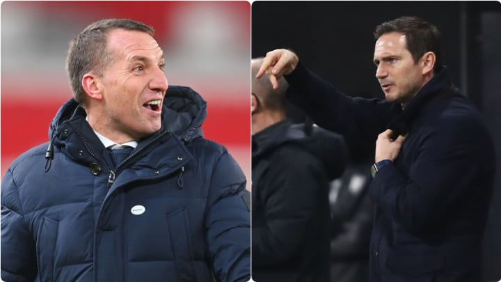 Rodgers' Leicester are outperforming Lampard's Chelsea