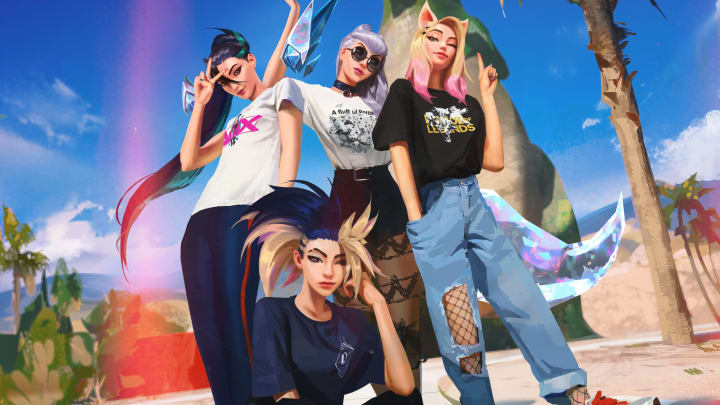 League of Legends and Uniqlo have finally released their collaboration for the UT Graphic Tees collection. | Photo by Riot Games, Uniqlo