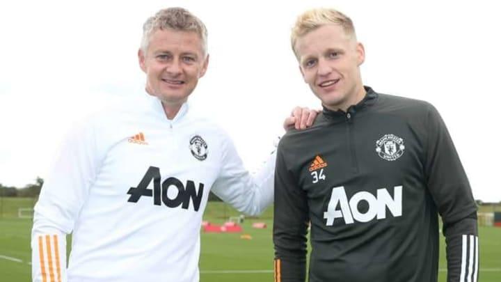 Van De Beek đang đem lại nhiều sự khích lệ cho NHA Manchester United