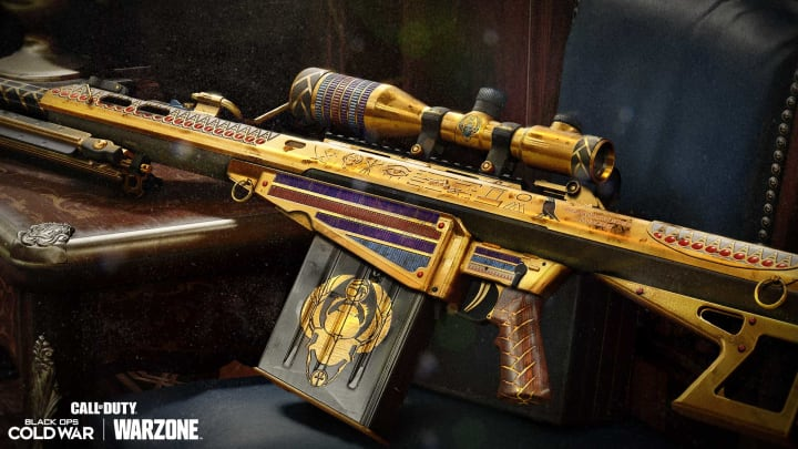 DBLTAP's sniper rifle tier list for Call of Duty: Warzone, updated for Season 4.
