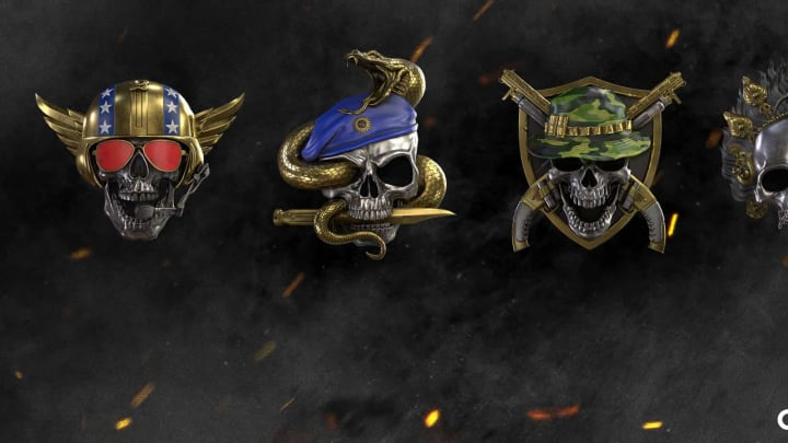 The new Prestige level icons for Black Ops Cold War