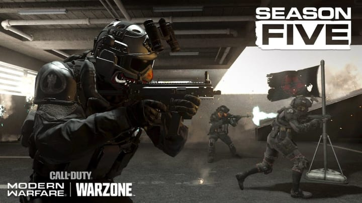 The APC9 and the AN-94 appear poised to join Modern Warfare and Warzone in Season 5.