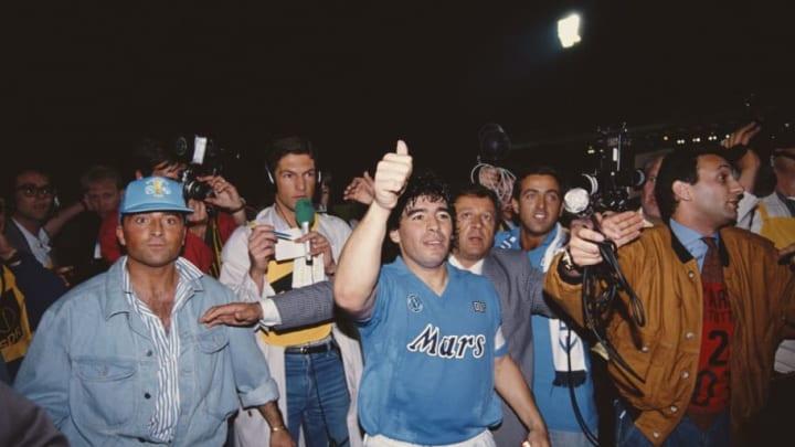 Maradona est une vraie légende à Naples.