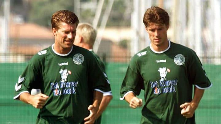 Brian puede presumir de haber sido campeón de Europa con Dinamarca en 1992