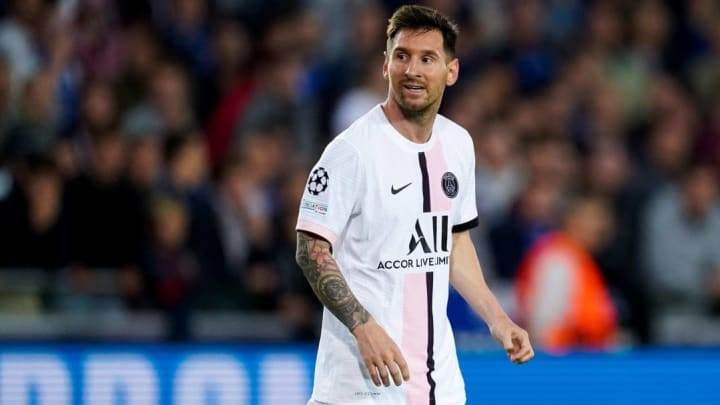 Lionel Messi joined PSG from Barcelona on a free transfer in the summer