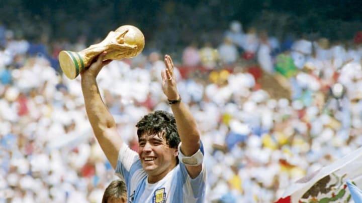 Maradona a porté l'Argentine sur le toit du monde en 1986.