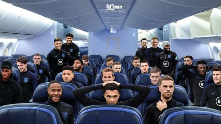 Who's on the plane?