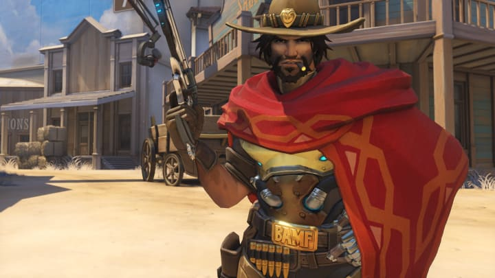 McCree is receiving several nerfs in this new update