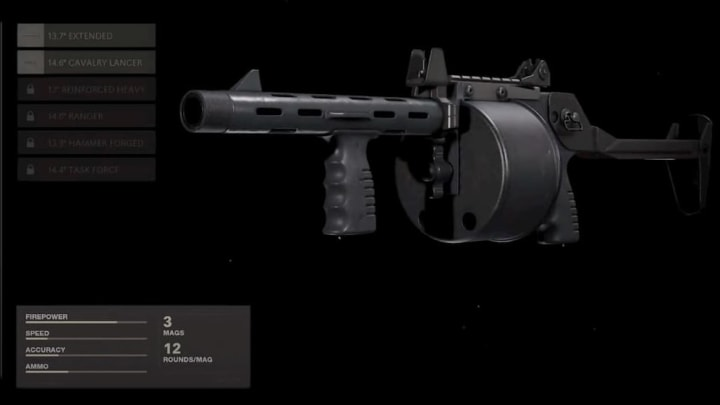 The Sreetsweeper was newly added to the Shotgun class