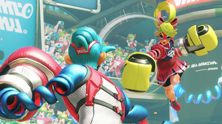 The next fighter to join Super Smash Bros. Ultimate will be from ARMS.