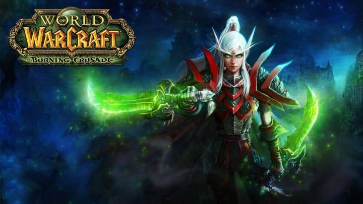 World of Warcraft The Burning Crusade Classic blood elf rogue