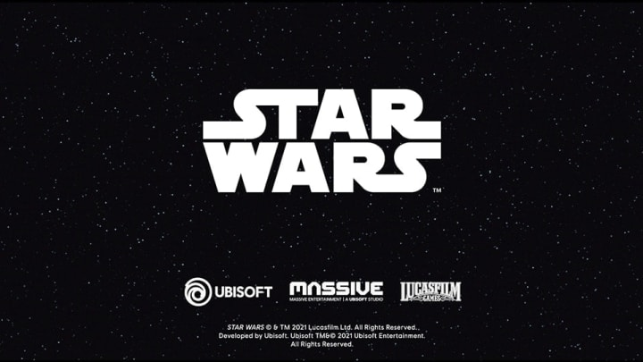 Ubisoft Massive is working on an open world Star Wars game.