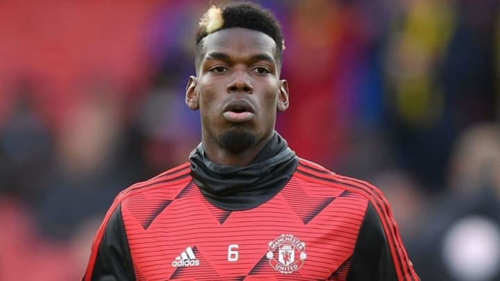Paul Pogba Training for Manchester United