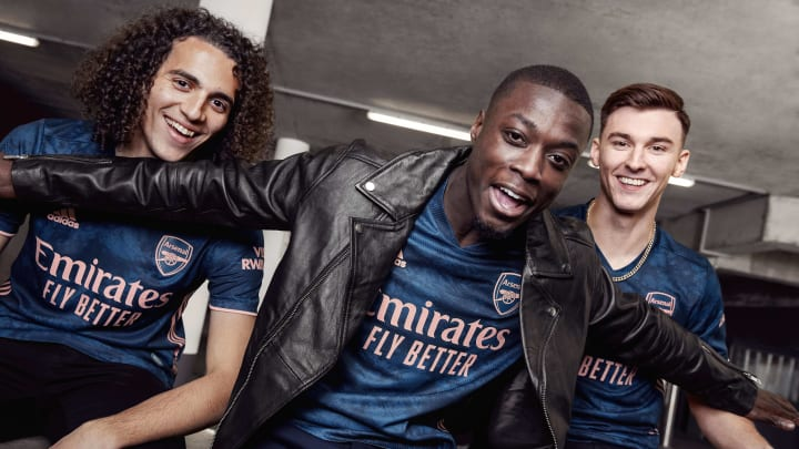 Arsenal Unveil All New Tie Dye Third Kit For 2020 21 Season