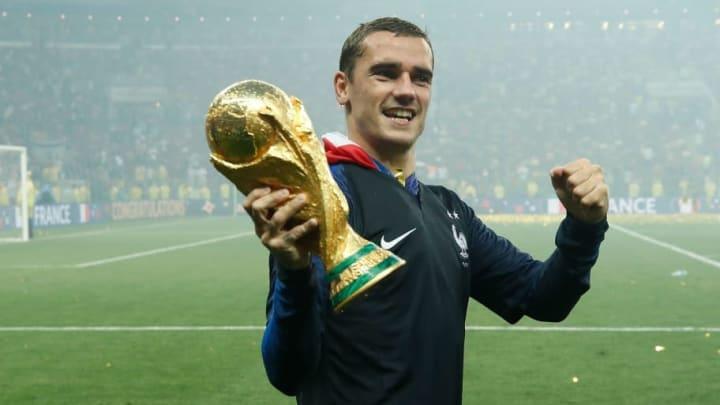 Griezmann ganó el Mundial y la Europa League