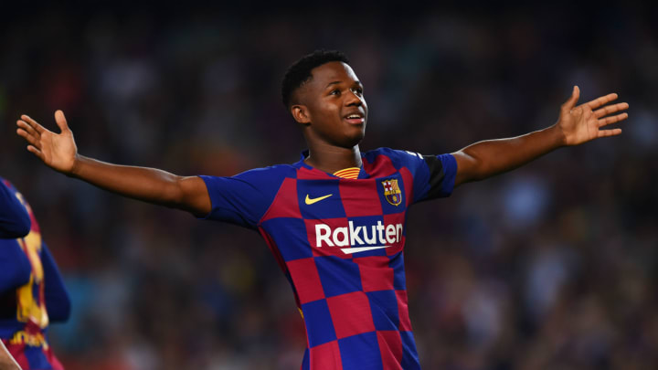 Ansu Fati bat tous les records de précocité au FC Barcelone.
