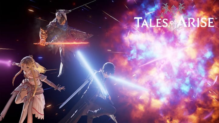 The worlds of Sword Art Online and Tales of Arise are set to collide soon, as officially teased by Bandai Namco Sunday.