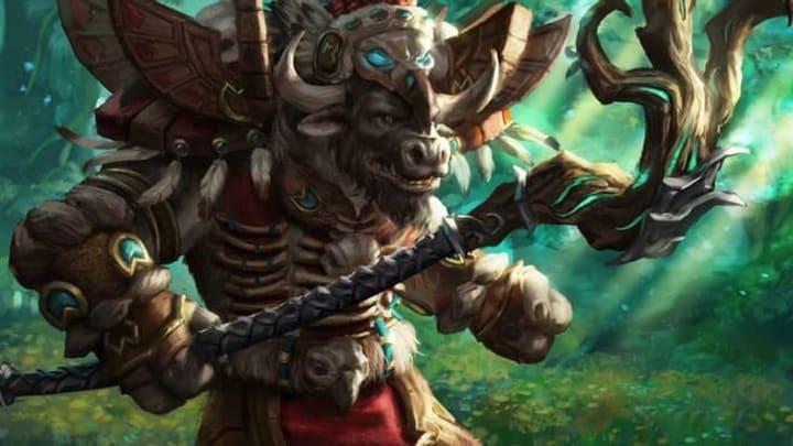 World of Warcraft The Burning Crusade Classic Tauren Druid class