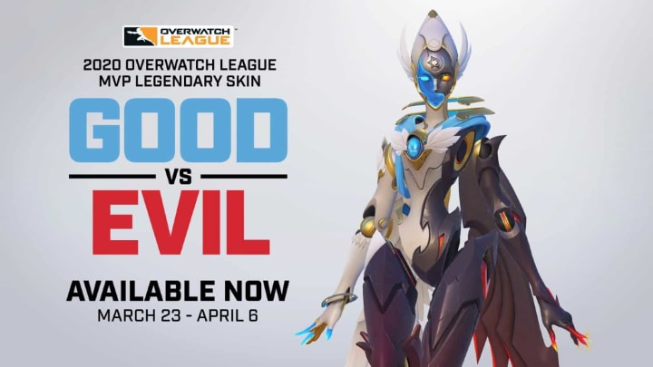 The Good vs Evil skin designed for Fleta will be the last MVP skin to be released.