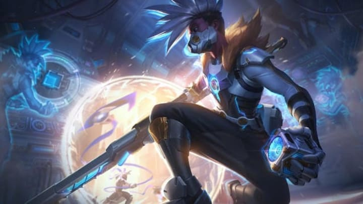 Pulsefire Ekko joins the coveted skin line in League of Legends.
