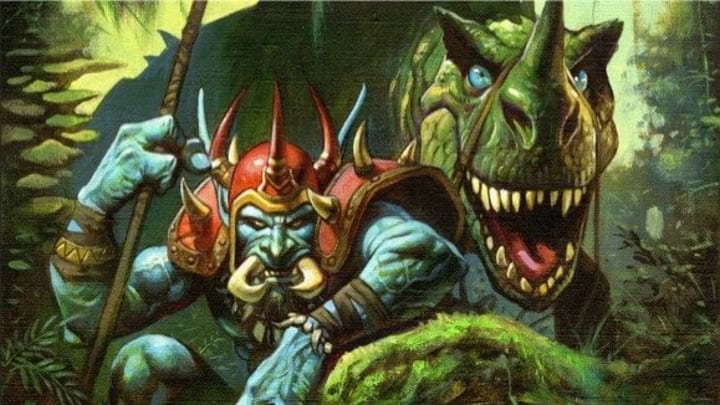Troll Hunter artwork World of Warcraft The Burning Crusade Classic by Blizzard