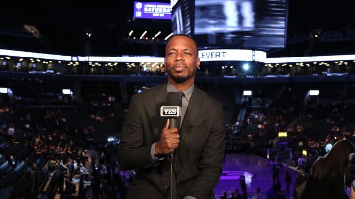 YES Nets announcer Michael Grady.