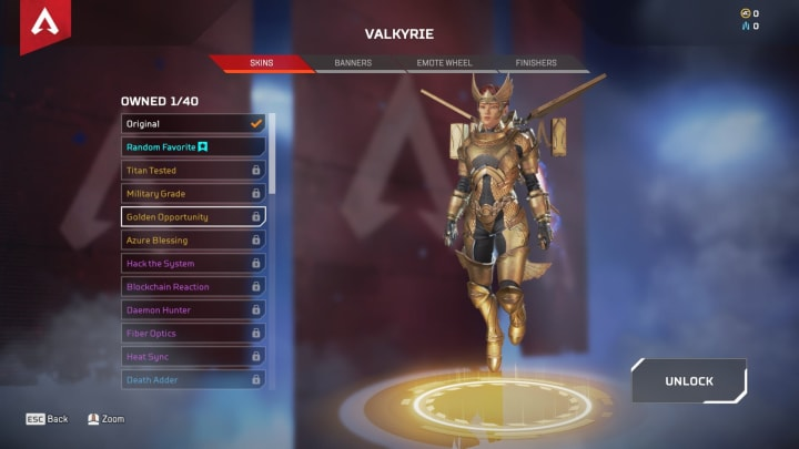 Valkyrie Legendary Skins Coming to Apex Season 9