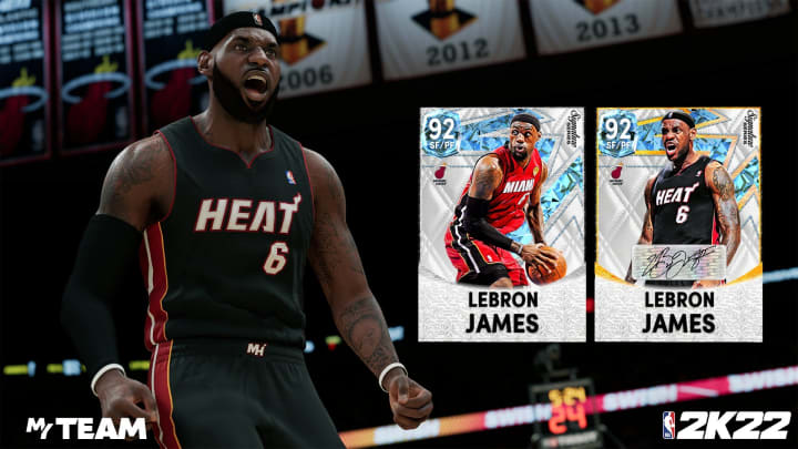 The Signature Series Packs were released in NBA 2K22 MyTeam on Sept. 24, 2021.