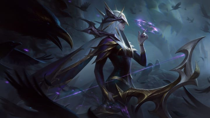 Coven Ashe is one of four new Coven skins.