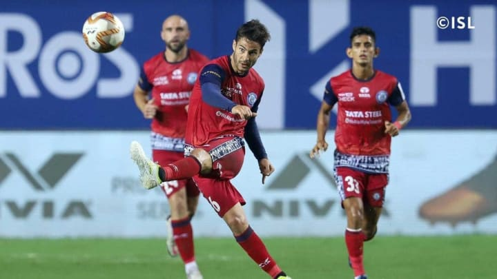 Aitor Monroy was Jamshedpur's best player against Chennaiyin FC