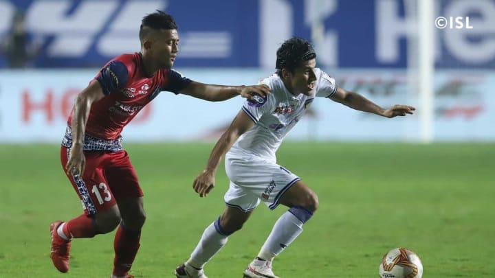 Anirudh Thapa ran the show for Chennaiyin FC against Jamshedpur FC