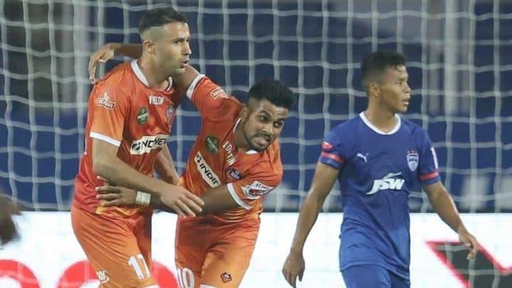 Igor Angulo led FC Goa's comeback against Bengaluru FC