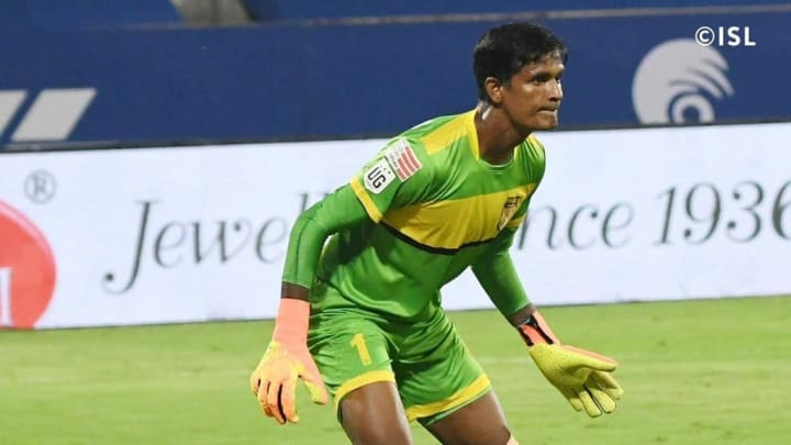 Subrata Paul was excellent for Hyderabad FC