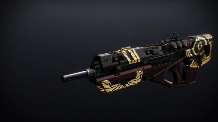 The next weapon on this list also happens to be another new Trials weapon.