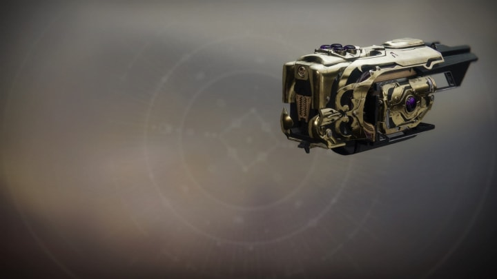 The exotic fusion rifle Jotunn is an example of a powerful waepon playres can get with exotic ciphers.