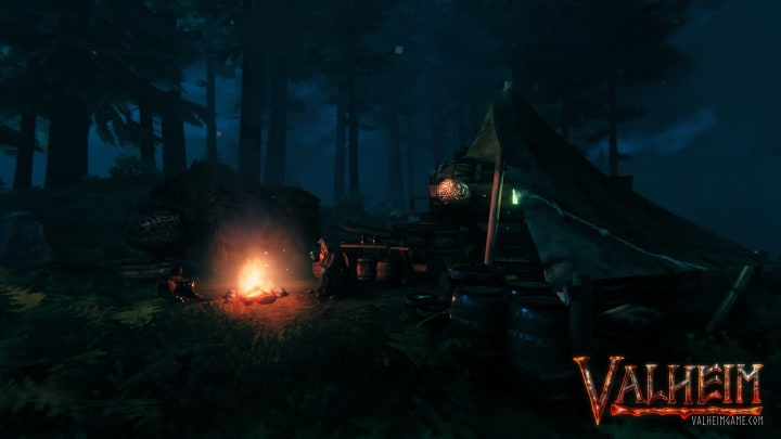 A warrior should always be sure their axe and gear are repaired in Valheim.