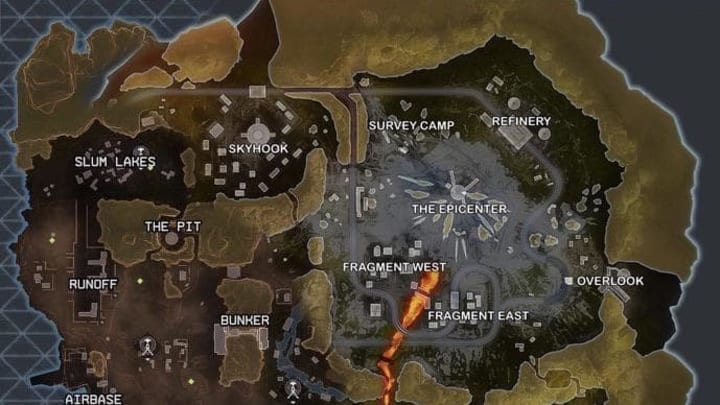 This map mockup combines Apex Legends' two maps into one.