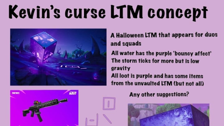 This LTM concept would have players bouncing and using unvaulted weapons.