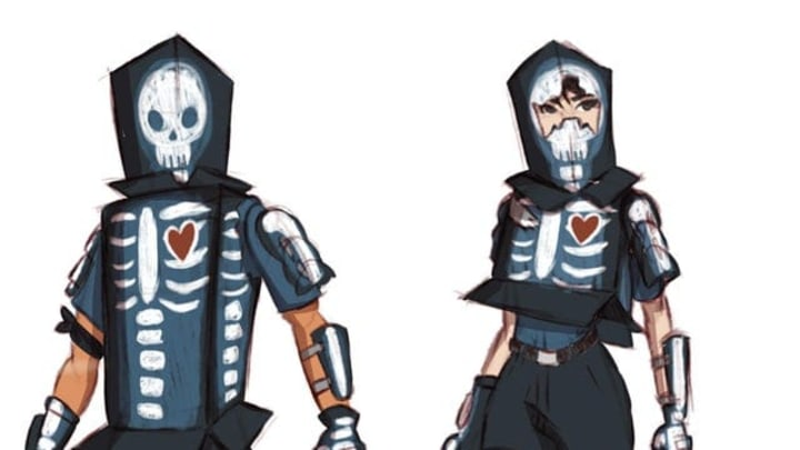 The X-Ray Boxer and Boxy skin concepts.