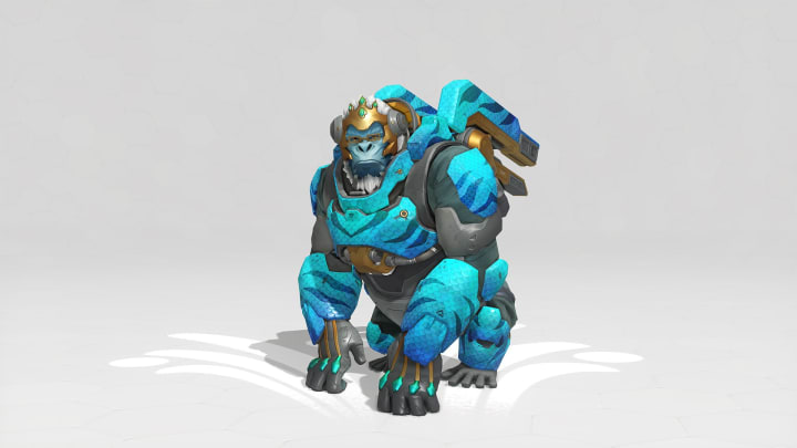 Ocean King Winston is available as a Week 1 challenge reward during the annual Overwatch Summer Games event this year.