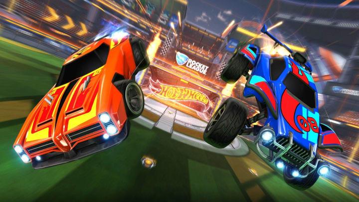 Rocket League Hot Wheels RC Rivals Set Goal Explosion