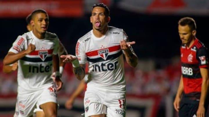Sao Paulo goleó a Flamengo