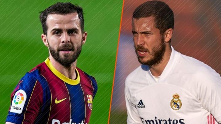 Miralem Pjanic et Eden Hazard ne sont que l'ombre d'eux-même.